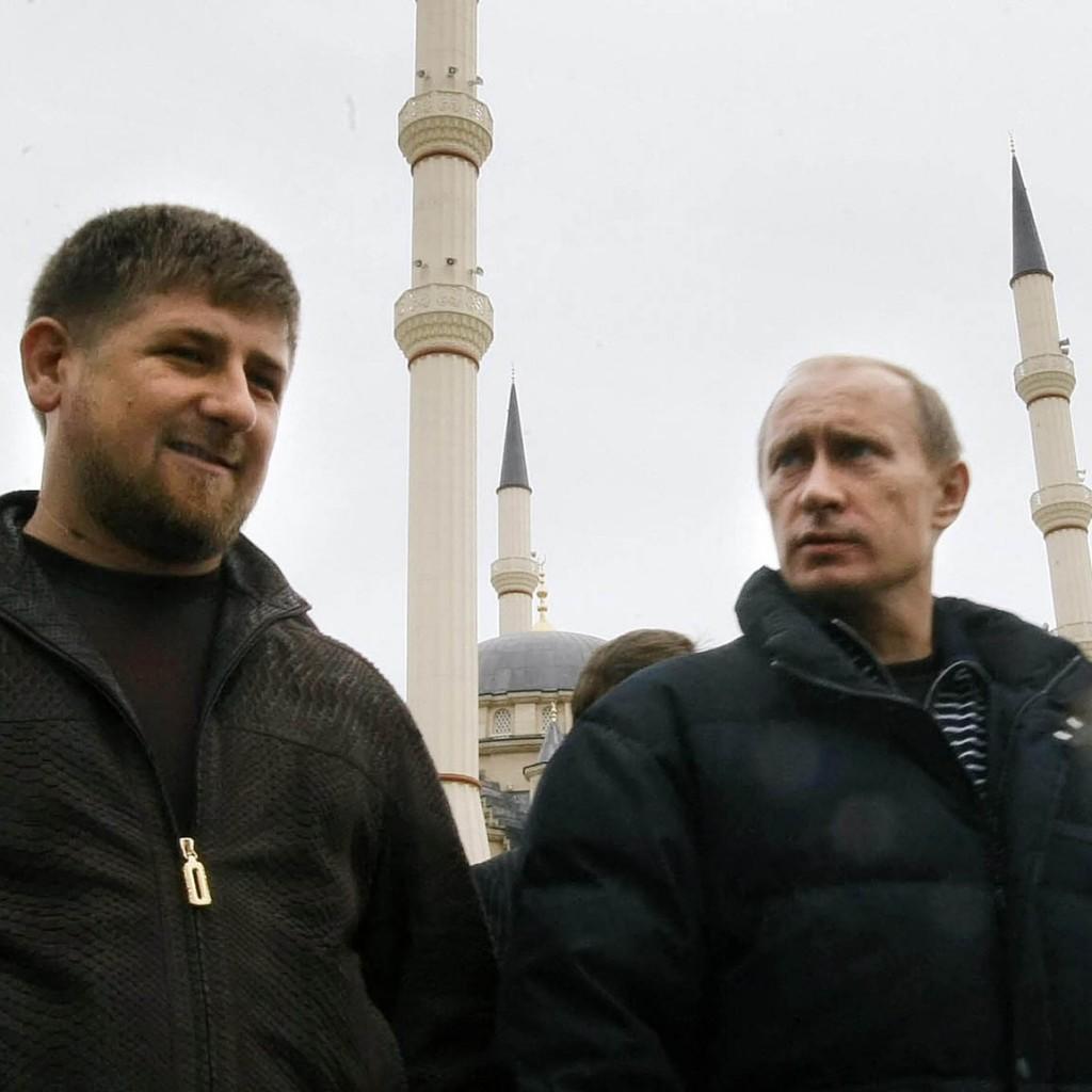 Кадыров и Путин