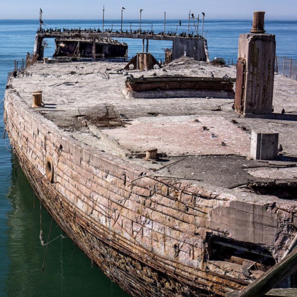 железнобетонный корабль