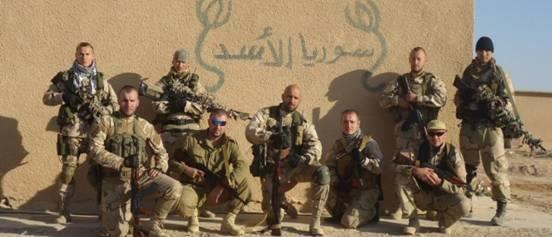 Группа Вагнера в Сирии, 2013 г.