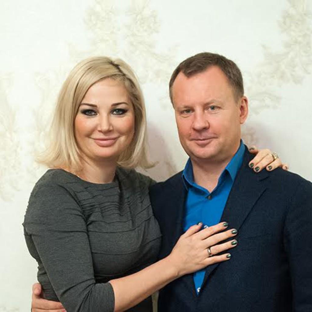 Денис Вороненков с женой в Киеве