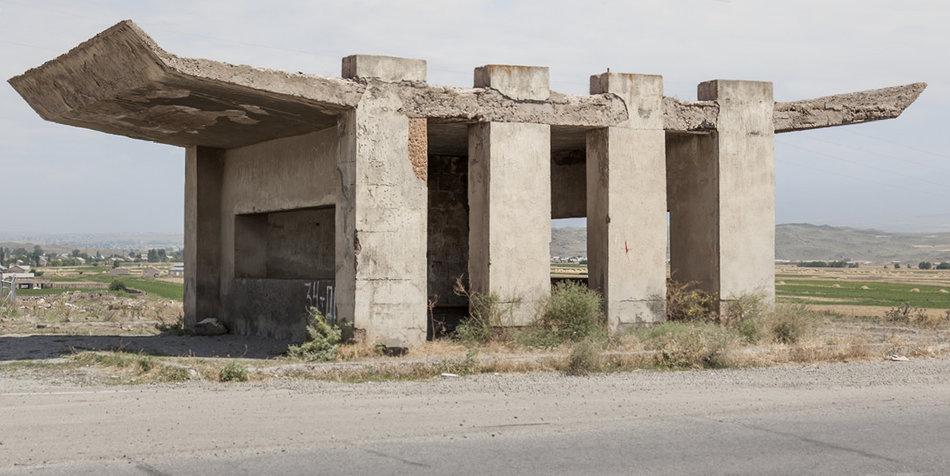Советская автобусная остановка — Армения, г. Саратак №2