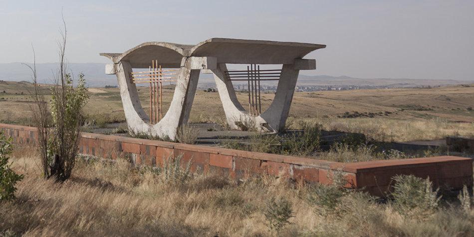 Советская автобусная остановка — Армения, г. Ереван