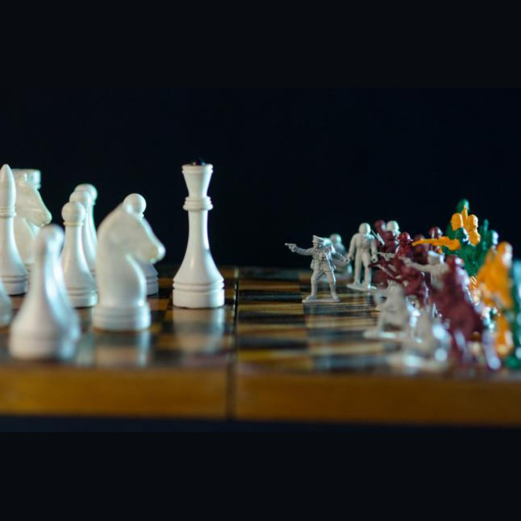 шахматы и солдатики