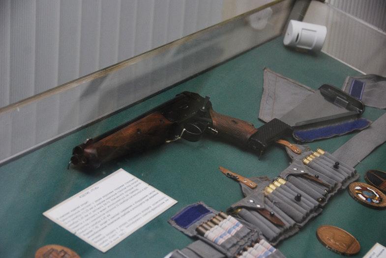 рёхствольный пистолет ТП-82 в Артиллерийском музее Санкт-Петербурга