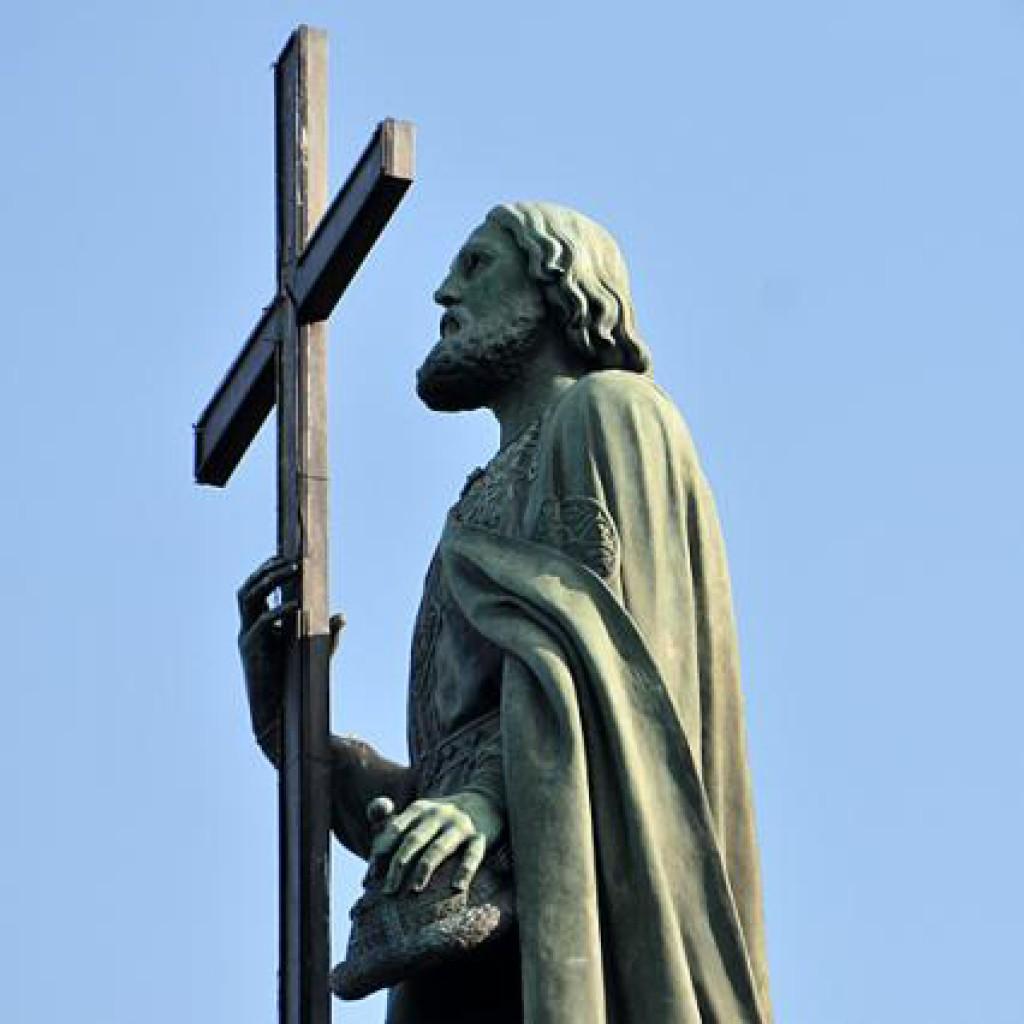 Памятник князю Владимиру Великому в Киеве