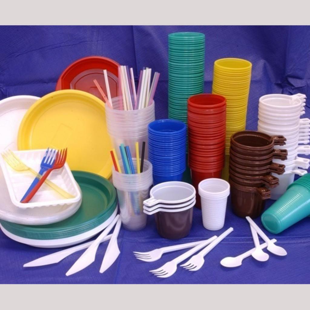 пластиеовая посуда