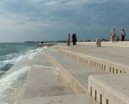 «Морской орган» для создания звуков использует ветер и волны