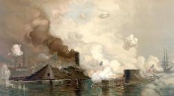 8-9 марта 1862. Первый в истории бой броненосных кораблей