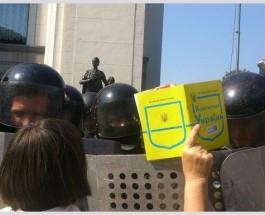 Эмоциональная нестабильность или провокация в интересах России. Кто и зачем кинул гранату под ВР