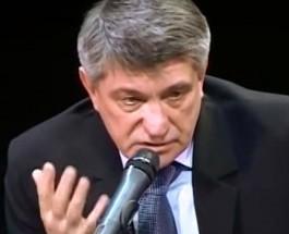 Российский режиссер Александр Сокуров в феврале 2008-го года рассказывает о возможной войне России с Украиной и Казахстаном