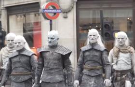 Белые ходоки вышли на улицы Лондона