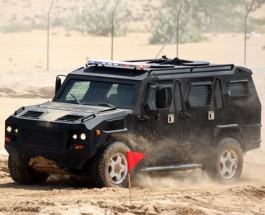 КрАЗ представил новый бронеавтомобиль «Кобра»