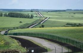 Как сейчас выглядит Стена на границе с Россией