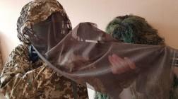 Для украинских снайперов разработали новый маскировочный комплект