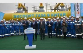 Казахстанский газ пошел в Китай