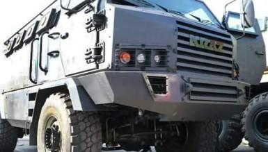 КрАЗ презентовал новый бронированный автомобиль