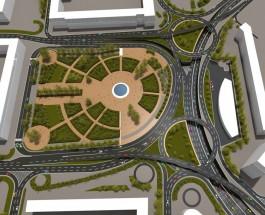 Представлен проект реконструкции Ленинградской площади в Киеве