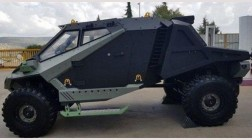 Израильские разработчики презентовали военный внедорожник Mantis