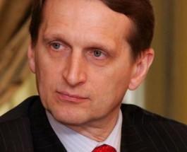 Нарышкин предложил ЕС ввести санкции против Украины