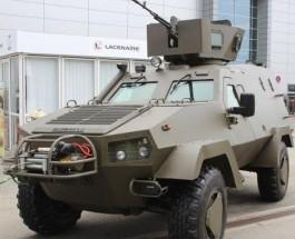 На IDET 2015 показали модернизированный украинско-польский бронеавтомобиль «Онцилла»