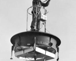 Летающая платформа фирмы Hiller Aircraft