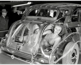 Привидение с мотором: Pontiac Plexiglas Deluxe Six «Ghost Car» (1939)