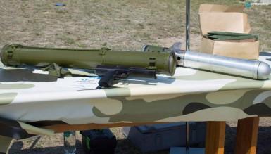 УкрОборонПром показал новый реактивный огнемет РПВ-16