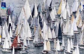 Украинская яхта победила в самой массовой регате мира