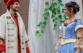 В Мукачевском замке воссоздали свадьбу, прошедшую 335 лет назад