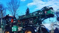 Львовагромашпроект анонсировал выход нового самоходного опрыскивателя «Скорпион»