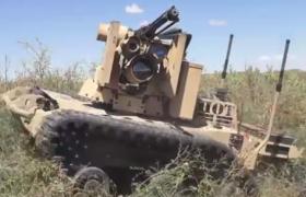 Scorpion RS2 – робот с пулемётом