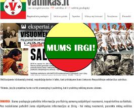 В Литве запустили «Vatnikas» — аналог украинского сайта «Миротворец»