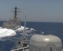Зачем РФ провоцирует военно-морские силы США
