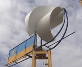 Уникальные ветряки киевского ученого хотят выпускать везде, кроме Украины