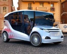Украинцы представили отечественный электромобиль