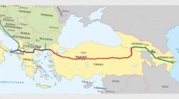 Началось заполнение газом трубопровода TANAP
