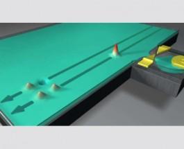 Ученым удалось увидеть процесс раскола электрона на две части