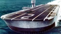Британские и американские проекты авианосцев на воздушной подушке