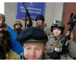 """Полк """"Азов"""" освободил Коминтерново и перешел в полномасштабное наступление"""