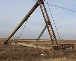 «Правый сектор» взял под охрану поврежденные электроопоры ЛЭП в Крым