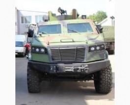 Новый бронеавтомобиль «Козак-5» начал проходить испытания