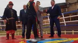 В «Парке Киевская Русь» прошел Кубок Украины по элит файту