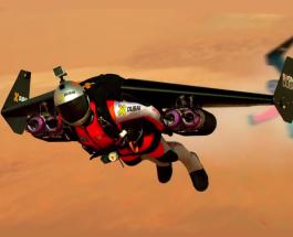 Полет над Дубаи на джетпаках