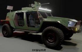 Компанія «Інгуар» запропонувала концепт універсальної платформи переднього краю