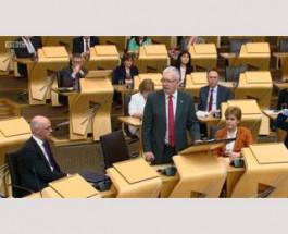 Шотландский парламент не поддержал законопроект о Brexit