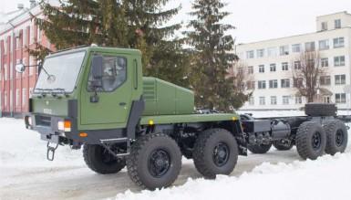 КрАЗ изготовил шасси для отечественного ракетного комплекса