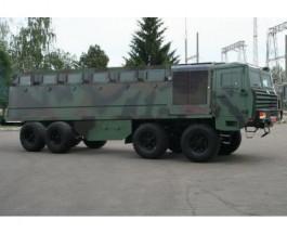 КрАЗ разрабатывает бронированное многоцелевое шасси 8х8