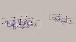 Модульных дронов научили собираться в сложные конструкции