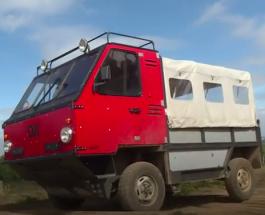 «OX» — первый в мире сборный автомобиль