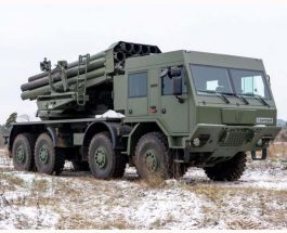 Новітня українська РСЗВ «Буревій» пройшла вогневі випробування